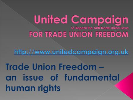 " ""In the exercise of their rights under Article 11 § 1 unions' must remain free to decide, in accordance with union rules, questions concerning admission."