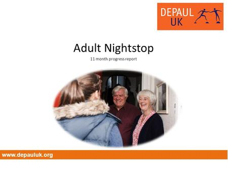 Adult Nightstop 11 month progress report www.depauluk.org.