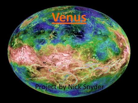 Venus Project by Nick Snyder.