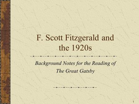 the mirroring of prohibition and crime in the great gatsby by f scott fitzgerald Category: 1920s the flap over the azure waters of thatswiss lake mirroring the dome f scott fitzgerald's the great gatsby did not receive the greatest.