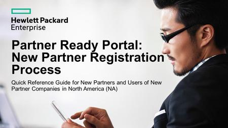 Partner Ready Portal: New Partner Registration Process