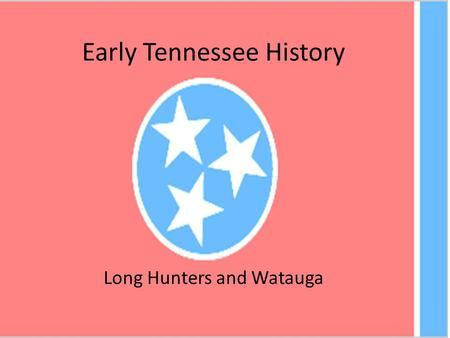 Early Tennessee History