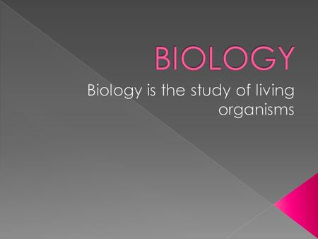  Biology examines the structure, function, growth, origin, evolution, distribution and classification of all living things. Five unifying principles.
