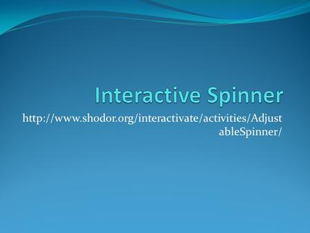 ableSpinner/