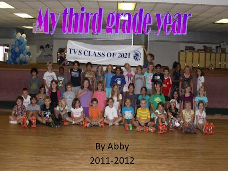 By Abby 2011-2012. Back to school party Music Class!!!