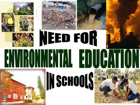 WHAT IS ENVIRONMENTAL EDUCATION? Environmental education refers to organized efforts to teach about how natural environments function and, particularly,