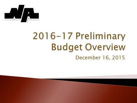 December 16, 2015. 2 SeptemberBuilding level budgets are prepared and reviewed. OctoberExecutive Council members review and modify controllers' requests.