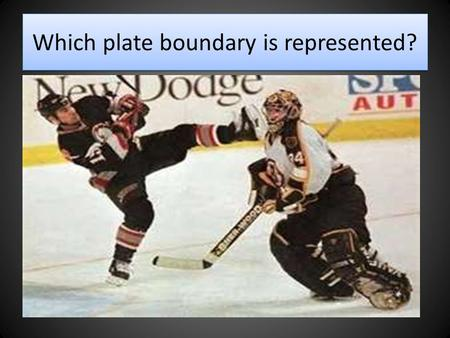 Which plate boundary is represented?. Convergent Boundary.