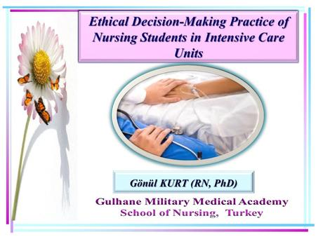 Gönül KURT (RN, PhD). 2 Intensive Care Units (ICUs) provide increasingly sophisticated treatments to those who are critically ill. PROBLEM STATEMENTS.