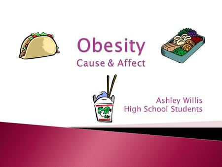 Ashley Willis High School Students I Do not Know It is the term that describes weight that is much greater then what is healthy.