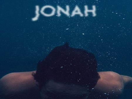 Jonah Chapter 2 (ESV) 17 And the L ORD appointed a great fish to swallow up Jonah. And Jonah was in the belly of the fish three days and three nights.