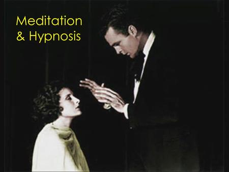 Meditation & Hypnosis.  What is the difference between Concentrative Meditation and Receptive Meditation?  What are three benefits of Meditation? 