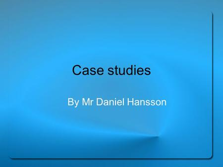 case studies in psychotherapy by danny wedding