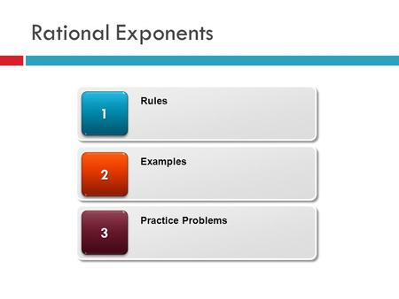 Rational Exponents 33 22 11 Rules Examples Practice Problems.