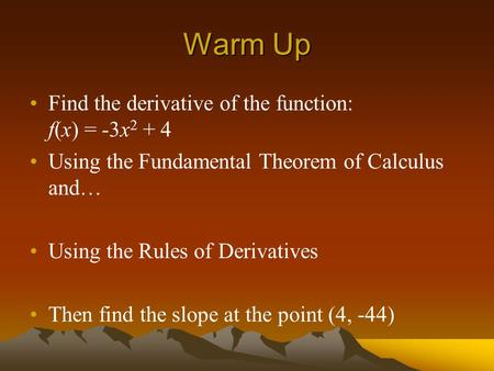 how to find f x using fundamental therom of calculas