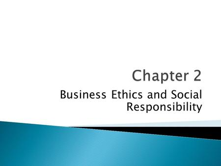"Business Ethics and Social Responsibility. ""The one and only social responsibility of business is to increase its profits."" Milton Friedman (b. 1912),"