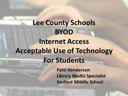 The goal of BYOD programs is to expand opportunities for 21st Century learning. However, using personally owned devices at school is a privilege, not.