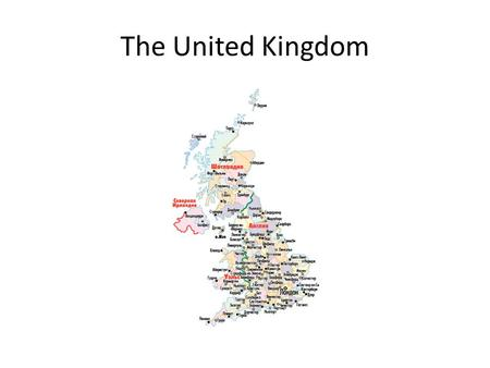 The United Kingdom. The flag Union Jack The united Kingdom consist of England Scotland Wales Northern Ireland.