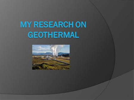  Geothermal is a warming and cooling system which comes from the earth. The adjective geothermal originates from the Greek roots geo, meaning earth,