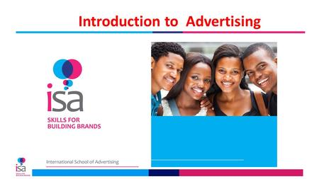 Introduction to Advertising. THE ADVERTISING INDUSTRY.