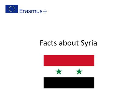 Facts about Syria. Location Syria is located in Southwestern Asia it's bordered by Turkey on the north, Lebanon and Israel on the west, Iraq on the east,