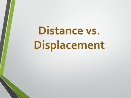 Distance vs. Displacement. Fifty Meters To The Outhouse? Written By Willi Makit Illustrated by Betty Wont.