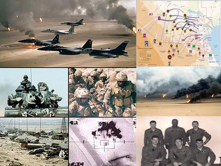 Overview Understand the causes, outcome and impact of Operation Desert Storm Understand how military aviation and national defense strategy fundamental.