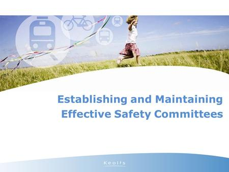 Establishing and Maintaining Effective Safety Committees.