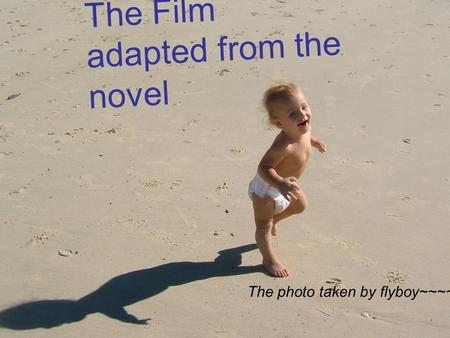 The Film adapted from the novel The photo taken by flyboy~~~~
