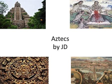 Aztecs by JD. What person was said to be able to tell the future?