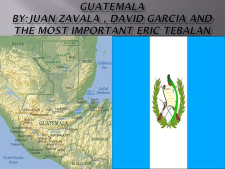  Our mission to find the best place to build a nuclear power plant in Guatemala based on……………………… … our information.