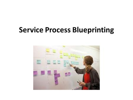 Service Process Blueprinting. Ultimately, one thing really matters in service encounters – the customer's perceptions of what occurred. ~ Richard B. Chase.
