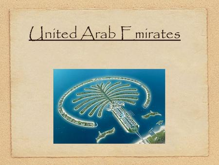 United Arab Emirates. UAE Government The Government type is Federation Every five years, a new president and vice president are elected by the Supreme.