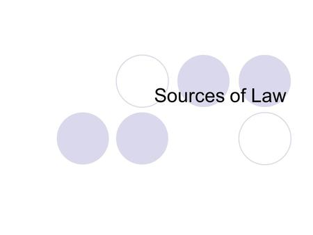 Sources of Law. Primary Sources Secondary Sources What do you think these terms mean? What do these terms mean when studying history?
