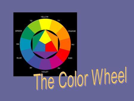Happy Monday! 2/10/14 Today we are: –Learning about color Favorite color Color wheel PPT Color wheel creation.