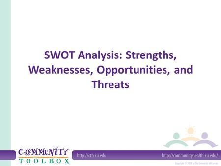 SWOT Analysis: Strengths, Weaknesses, Opportunities, and Threats.