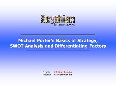 michael porter competitive advantage pdf free download
