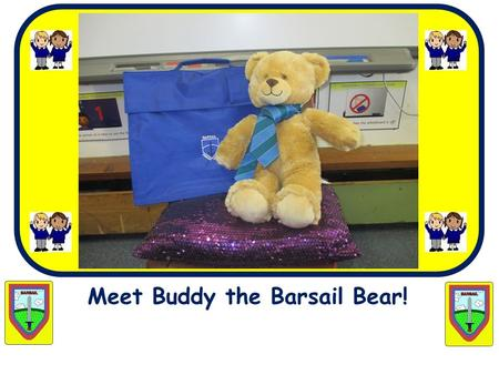 Meet Buddy the Barsail Bear!