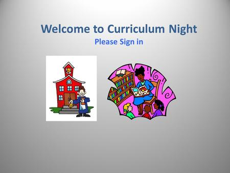Welcome to Curriculum Night Please Sign in. Math Topics covered in November and December Fractions OPERATIONS THAT WE TEACH WITH FRACTIONS : ADD, SUBTRACT,