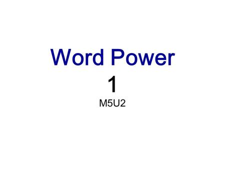 Word Power 1 M5U2. be composed of sth The things that something is composed of are its parts or members. = consist of Water is composed of hydrogen.