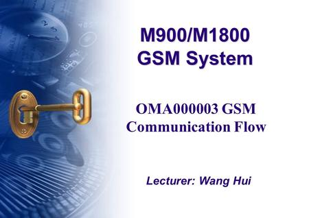 OMA GSM Communication Flow