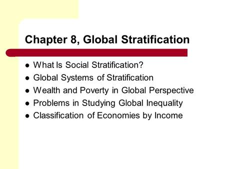 globalization sociology essay