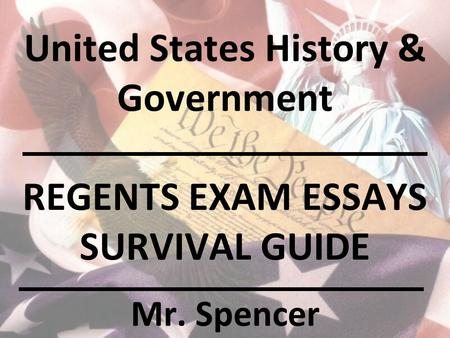 thematic essays for us history regent Us history regents dbq essay examplepdf revised generic scoring rubric for regents for the united states history regents between the thematic essay and the.
