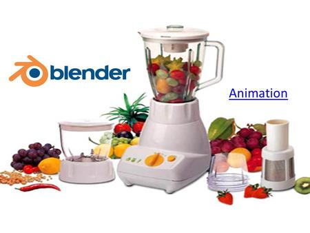 Animation. What is Blender? Blender is an open source 3D modeling program developed by NaN. It was formed in 1998, originally manufactured as shareware.