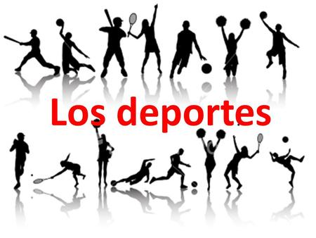 Los deportes. Task:Open book assessment Write a letter about what you like to do in your free time. You could mention: What different activities you do.