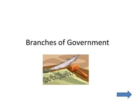 Branches of Government. Table of Contents Legislative Branch Executive Branch Judicial Branch Quiz About Me Bibliography.