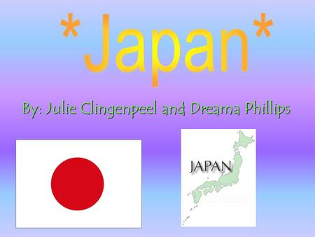 By: Julie Clingenpeel and Dreama Phillips Who were the first Europeans to go to Japan?