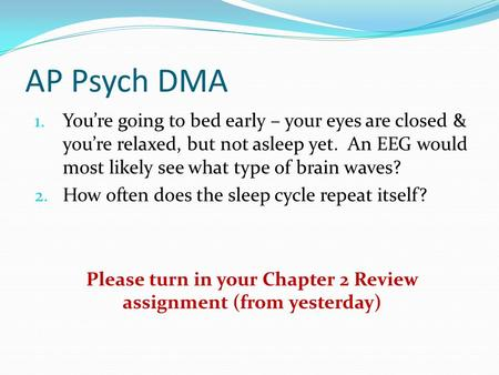 Ap psychology essay questions on the brain – Your Works Library