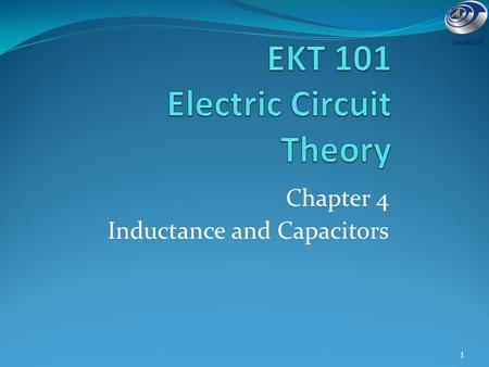 EKT 101 Electric Circuit Theory