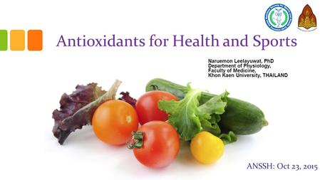 Antioxidants for Health and Sports